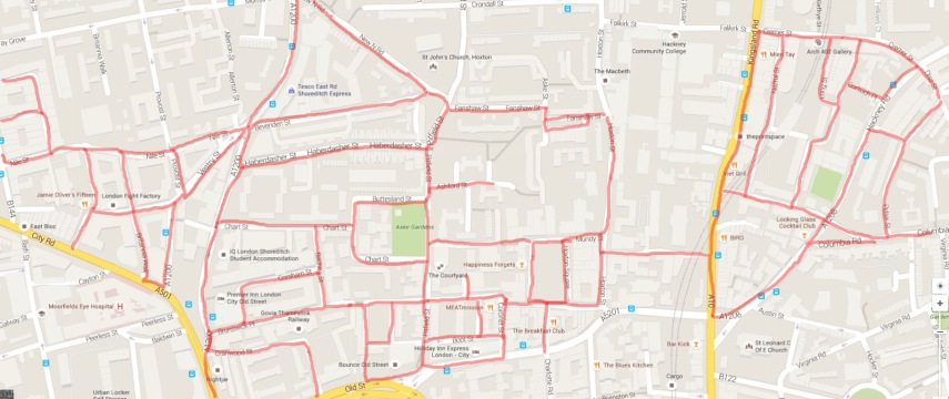 Day 24 Route