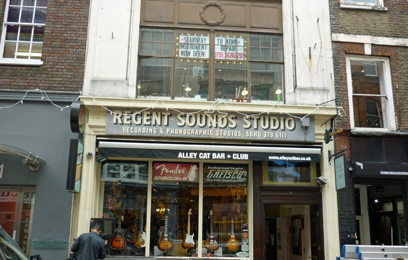 Day 26 – St Giles – Shaftesbury Avenue – Drury Lane – DenmarkStreet