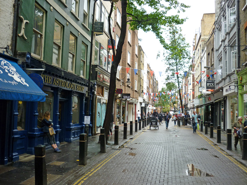 Day 30 Pt1 – Seven Dials – Neal Street – LongAcre