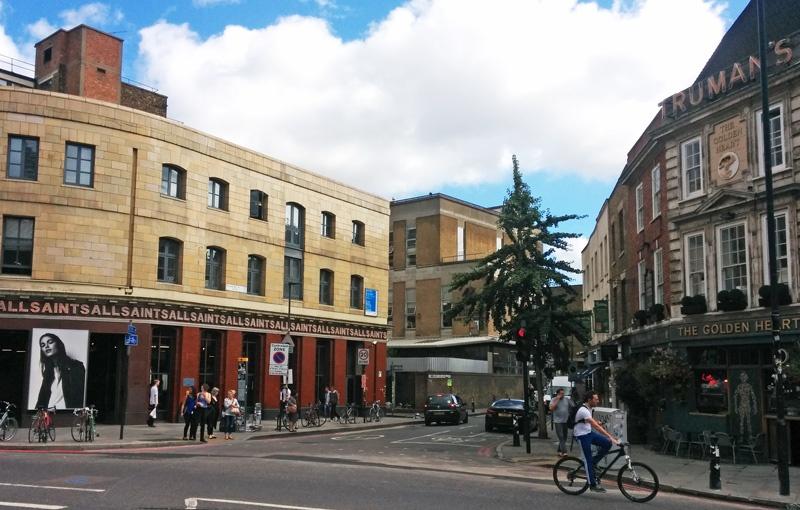 Day 31 (part 1) -Spitalfields – Broadgate – Liverpool StreetStation
