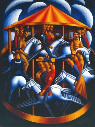 Merry-Go-Round 1916 Mark Gertler 1891-1939 Purchased 1984 http://www.tate.org.uk/art/work/T03846
