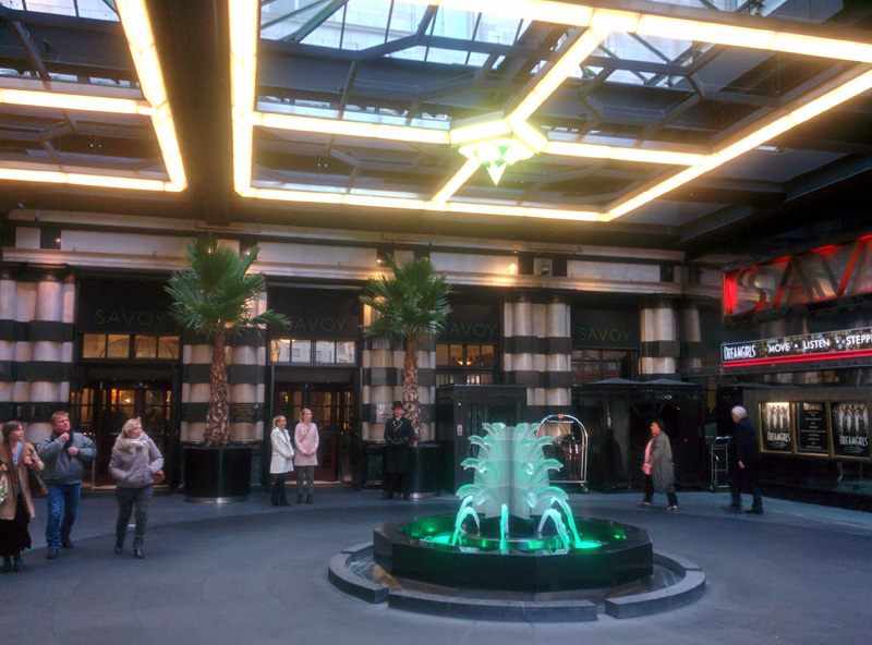 Day 33 (part 2) – The Strand -Covent Garden -SavoyPlace