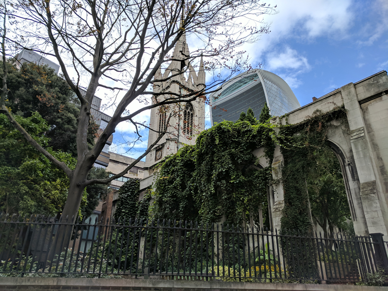 Day 45 – Bishopsgate – Leadenhall Market – Lime Street –Monument