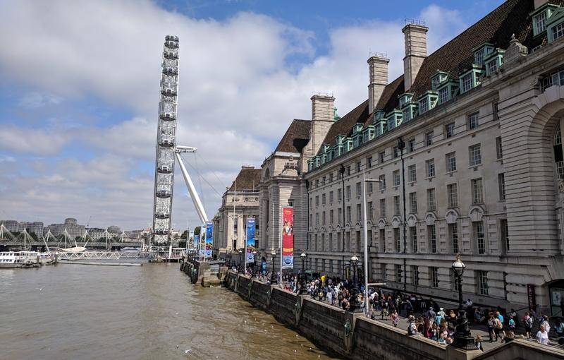 Day 53 – Waterloo Station – Westminster Bridge – Queen'sWalk