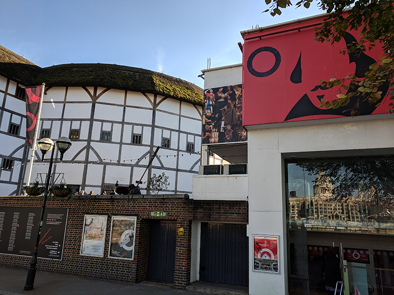 Hester Thrale and the Globe Theatre.